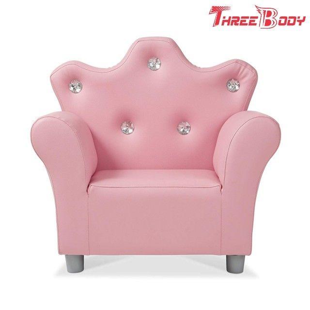 Enjoyable Comfy Modern Kids Furniture Child S Crown Armchair Pink Pu Ibusinesslaw Wood Chair Design Ideas Ibusinesslaworg