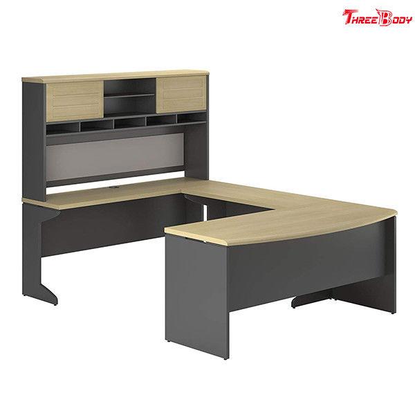 L Shaped Corner Office Desk , Home Office Modern Corner ...