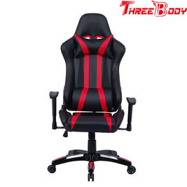 China Professional Racing Seat Office Chair , Black And Red Pc World Gaming Chair factory