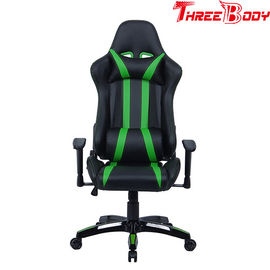 China Commercial Seat Gaming Chair With Adjustable Neckrest And Lumbar Support factory