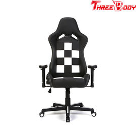 China PU Leather Seat Gaming Chair With Wide Armrests High Loading Capacity 350lbs factory