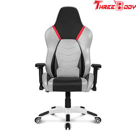 China Sturdy Metal Frame Racing Gaming Chair Adjustable Armrest 83.5 * 65 * 32cm factory