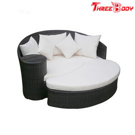 China Luxury Outdoor Lounge Sofa Daybed Patio Sofa Furniture Rattan / Wicker Material factory