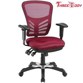 China Home / Office Mesh Computer Chair , Ergonomic Mesh Bottom Office Chair factory