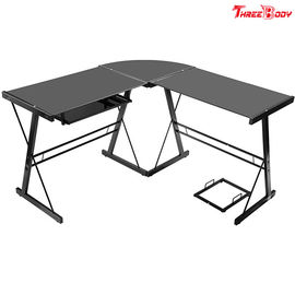 China Computer Modern Office Table L Shaped Corner Desk Commercial Office Furniture factory