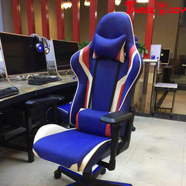 PU Leather Adjustable Gaming Chair , Comfortable Computer Gaming Chair
